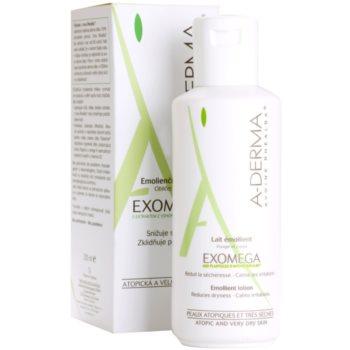 A-Derma Exomega tělové mléko pro velmi suchou citlivou a atopickou pokožku 1