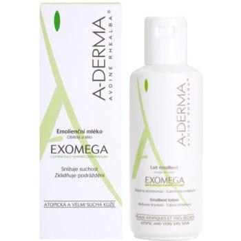 A-Derma Exomega tělové mléko pro velmi suchou citlivou a atopickou pokožku 2