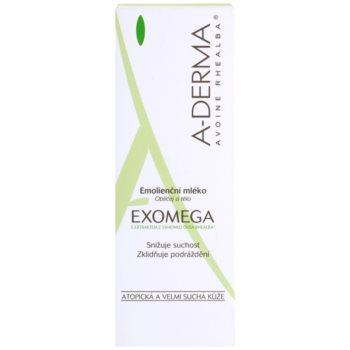 A-Derma Exomega tělové mléko pro velmi suchou citlivou a atopickou pokožku 3