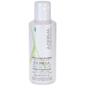 A-Derma Exomega gel hidratant spumant pentru piele foarte sensibila sau cu dermatita atopica  200 ml