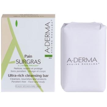 A-Derma Original Care sapun gentil pentru curatare  100 g
