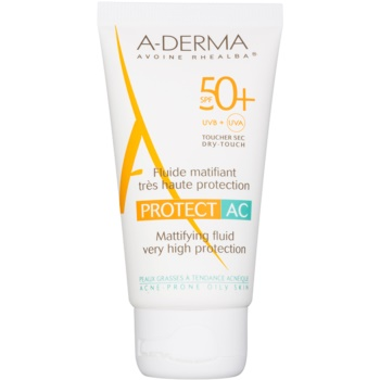 A-Derma Protect AC fluid matifiant SPF 50+ imagine produs