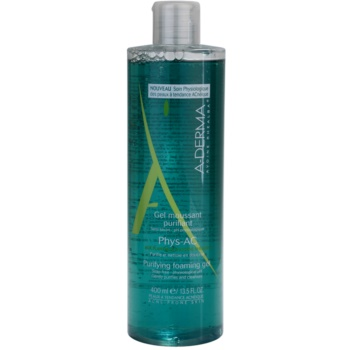 A-Derma Phys-AC gel spumant de curatare pentru ten acneic  400 ml