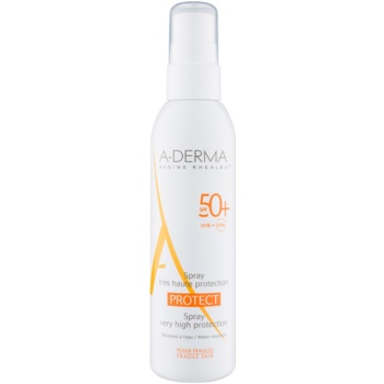 A-Derma Protect spray-loțiune de protecție SPF 50+  200 ml