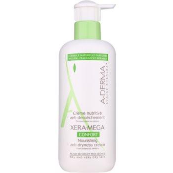 A-Derma Xera-Mega Confort Cremă nutritivă pentru față și corp pentru pielea uscata sau foarte uscata  400 ml