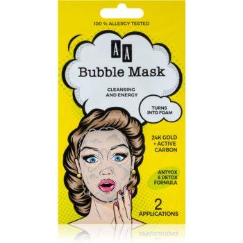 AA Cosmetics AA Bubble Mask masca de fata pentru curatare imagine produs