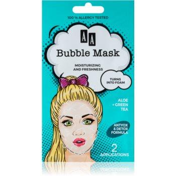 AA Cosmetics AA Bubble Mask masca revigorantã imagine produs