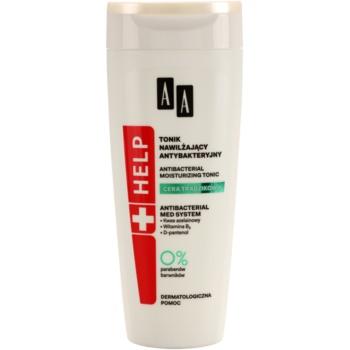 AA Cosmetics Help Acne Skin tonik antybakteryjny o dzłałaniu nawilżającym