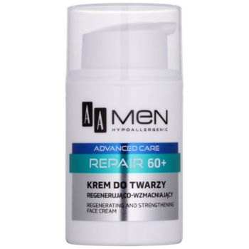 AA Cosmetics Men Advanced Care Cremă reînnoire și regenerare 60+