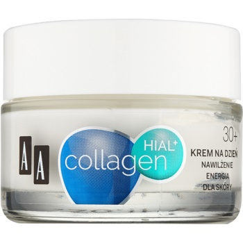 AA Cosmetics Collagen HIAL+ crema de zi hidratanta 30+ imagine produs