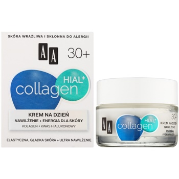 AA Cosmetics Collagen HIAL+ crema de zi hidratanta 30+ 1
