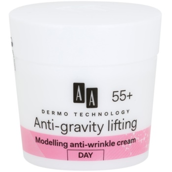 AA Cosmetics Dermo Technology Anti-Gravity Lifting Crema modelatoare impotriva ridurilor 55+ imagine produs