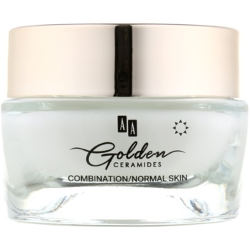AA Cosmetics Golden Ceramides Crema pentru zi anti-riduri  cu efect matifiant  50 ml