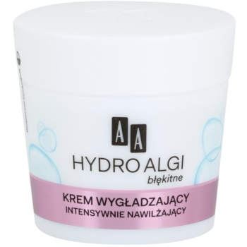 AA Cosmetics Hydro Algae Blue crema intens hidratanta impotriva primelor semne de imbatranire ale pielii
