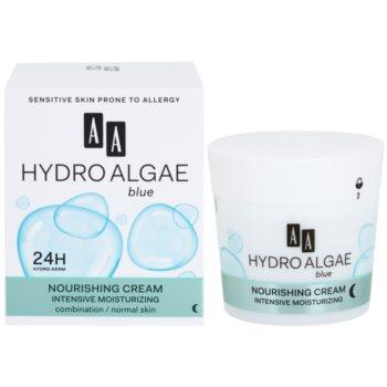 AA Cosmetics Hydro Algae Blue hydratisierende und nährende Creme 1