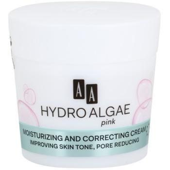 AA Cosmetics Hydro Algae Pink sjednocující krém pro hydrataci pleti a minimalizaci pórů 50 ml