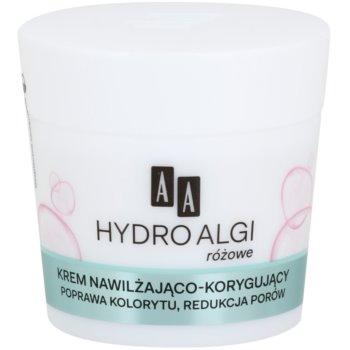 AA Cosmetics Hydro Algae Pink crema hidratante para alisar la piel y minimizar los poros