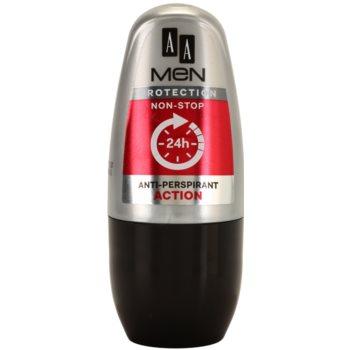 AA Cosmetics Men Action Antitranspirant-Deoroller
