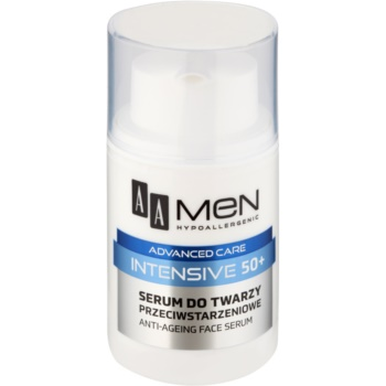 AA Cosmetics Men Intensive 50+ Ser anti-imbatranire  50 ml