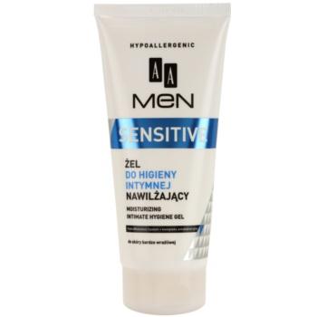 AA Cosmetics Men Sensitive gel pentru igiena intima cu efect de hidratare  200 ml