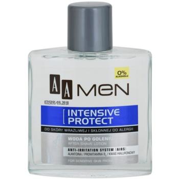 AA Cosmetics Men Intensive Protect zklidňující voda po holení bez alkoholu