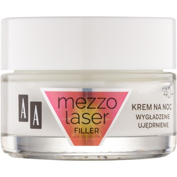 AA Cosmetics MezzoLaser cremă de noapte pentru fermitate cu efect de regenerare 40+  50 ml