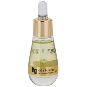 AA Cosmetics Oil Infusion2 Argan Tsubaki 40+ pleťový olej pro intenzivní výživu a pružnost