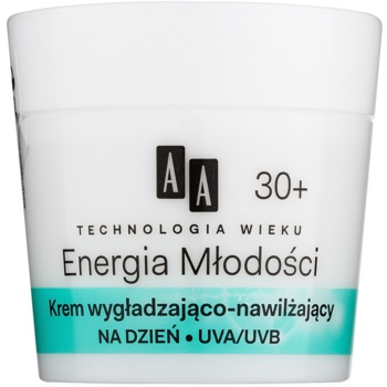 AA Cosmetics Age Technology Youthful Vitality crema pentru piele cu efect hidratant si matifiant 30+  50 ml