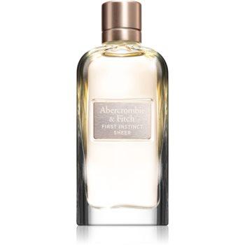 Abercrombie & Fitch First Instinct Sheer Eau de Parfum pentru femei imagine produs