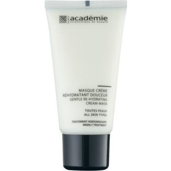Academie All Skin Types masca cremoasa delicata cu efect de hidratare  50 ml
