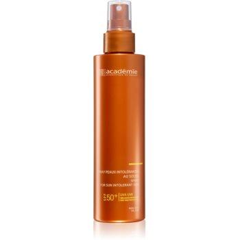 Académie Scientifique de Beauté Sun Protection Spray For Sun Intolerant Skin spray protector pentru corp cu intoleranță la soare SPF 50+