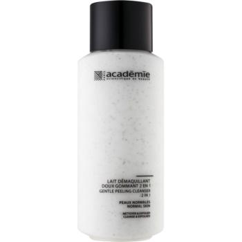 Academie Normal to Combination Skin lapte demachiant delicat cu efect exfoliant 2 in 1  250 ml