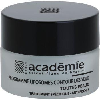 Academie All Skin Types gel pentru ochi de netezire împotriva umflăturilor