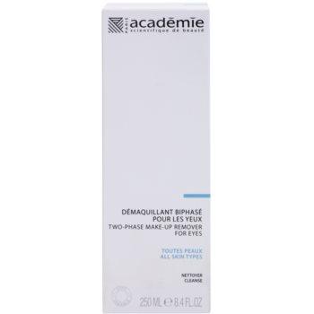 Academie All Skin Types двуфазов продукт за почистване на грим 2