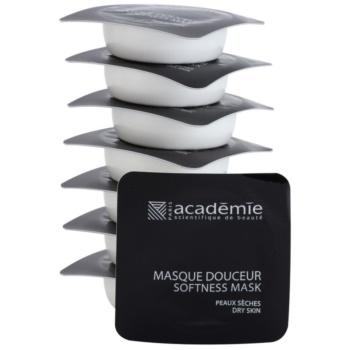 Academie Dry Skin výživná a zklidňující pleťová maska