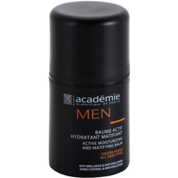 Academie Men balsam hidratant activ cu efect matifiant  50 ml
