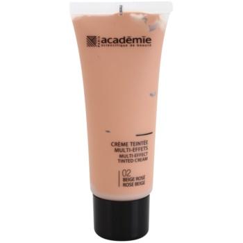 Academie Make-up Multi-Effect tónovací krém pro perfektní pleť odstín 02 Rose Beige 40 ml