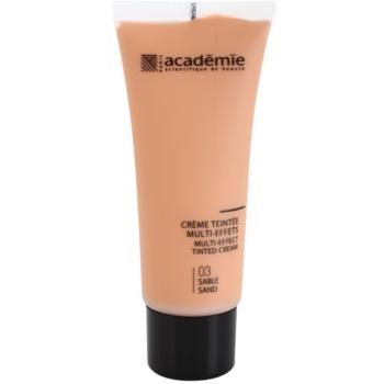 Academie Make-up Multi-Effect tónovací krém pro perfektní pleť odstín 03 Sand 40 ml
