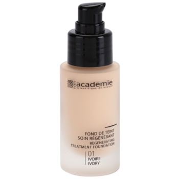 Academie Make-up Regenerating  make up lichid  cu efect de hidratare culoare 01 Ivory 30 ml