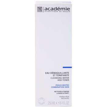 Academie Normal to Combination Skin tonic pentru curatare pe fata si ochi 2