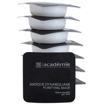 Academie Oily Skin máscara de limpeza para poros dilatados