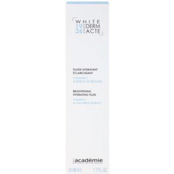 Academie Derm Acte Whitening fluido hidratante iluminador 2