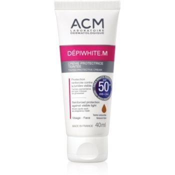 ACM Dépiwhite M crema protectoare cu efect de tonifiere SPF 50+ imagine produs