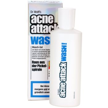 Acne Attack Wash! почистващ гел  против акне 1