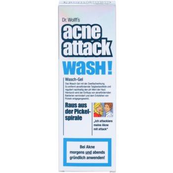 Acne Attack Wash! почистващ гел  против акне 3