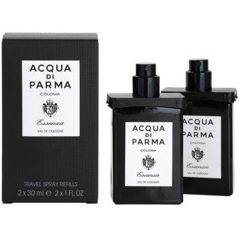 Acqua di Parma Colonia Essenza Eau de Cologne for Men  (2x Refill with Vaporiser) 1