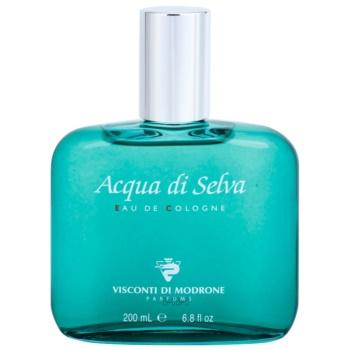 Acqua di Selva Acqua di Selva eau de cologne pentru barbati 200 ml