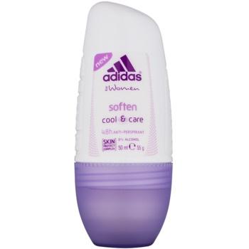 Adidas Soften Cool & Care deodorant roll-on pentru femei 50 ml