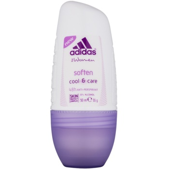 Adidas Soften Cool & Care deodorant roll-on pentru femei 50 ml