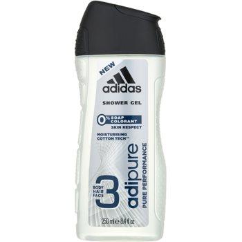Adidas Adipure gel de dus pentru barbati 250 ml